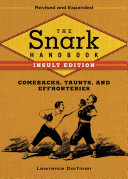 The Snark Handbook  Insult Edition