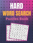 Hard Word Search Puzzles Book