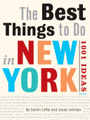 The Best Things to Do in New York Book PDF