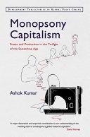 Monopsony Capitalism