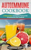 Autoimmune Cookbook Book
