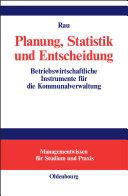 Planung, Statistik und Entscheidung