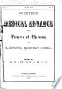 Western Medical Advance and Progress of Pharmacy