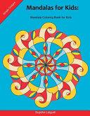 Mandalas for Kids  Mandala Coloring Book for Kids