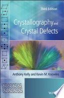 Crystallography and Crystal Defects Book