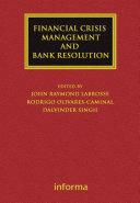 Financial Crisis Management and Bank Resolution [Pdf/ePub] eBook