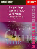 Songwriting: Essential Guide to Rhyming Pdf/ePub eBook