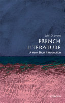 French Literature  A Very Short Introduction