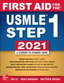First Aid for the USMLE Step 1 2021, Thirty first edition [Pdf/ePub] eBook