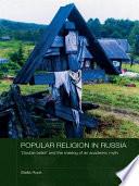 Popular Religion in Russia Book