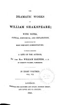 The Dramatic Works of William Shakspeare  Julius Caesar  Antony and Cleopatra  Cymbeline  Titus Andronicus  Pericles