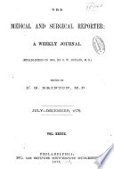 The Medical and Surgical Reporter