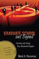 Graduate School and Beyond