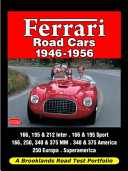 Ferrari Road Cars 1946 1956 Road Test Portfolio
