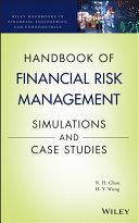 Handbook of Financial Risk Management Book