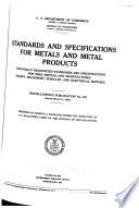 Miscellaneous Publication - National Bureau of Standards