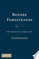 Before Forgiveness