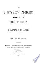 The Eighty-sixth Regiment, Indiana Volunteer Infantry