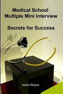Medical School Multiple Mini Interview