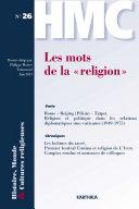 """Les mots de la """"religion"""""""