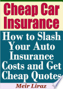 List of Cheap Car Insurance ebooks