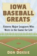 Iowa Baseball Greats Pdf/ePub eBook
