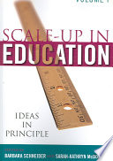 Scale Up In Education Ideas In Principle Book PDF