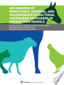 Mechanisms of Persistence  Survival  and Transmission of Bacterial Foodborne Pathogens in Production Animals Book
