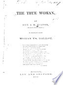 The True Woman Book