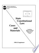 State Constitutional Law
