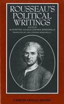 Rousseau's Political Writings