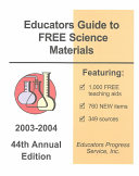 Educators Guide to Free Science Materials