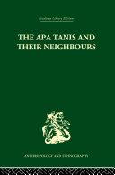 The Apa Tanis and their Neighbours Pdf/ePub eBook