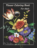 Flower Coloring Book For Adults Relaxation