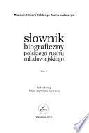 Słownik biograficzny polskiego ruchu młodowiejskiego