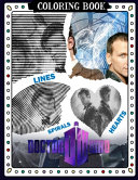 Doctor Who Lines Spirals Hearts Coloring Book