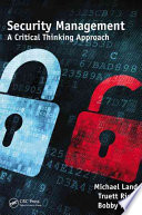 Security Management Book