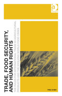 Trade  Food Security  and Human Rights