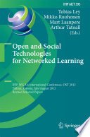 Open And Social Technologies For Networked Learning Book PDF