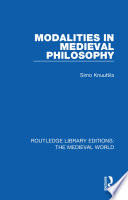 Read Online Modalities in Medieval Philosophy For Free