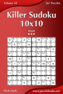 Killer Sudoku 10x10 - Hard - Volume 10 - 267 Puzzles