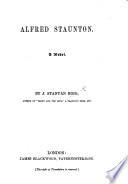 Alfred Staunton  a novel