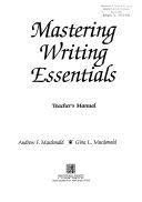 Mastering Writing Essentials