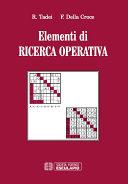 Elementi di Ricerca Operativa