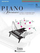 Piano Adventures Performance Book  Level 2a