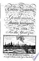London Magazine Or Gentleman S Monthly Intelligencer