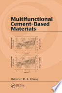 Multifunctional Cement Based Materials