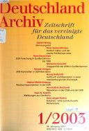 Deutschland Archiv