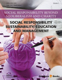 Social Responsibility   Sustainability  Education and Management