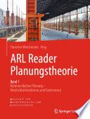 ARL Reader Planungstheorie Band 1